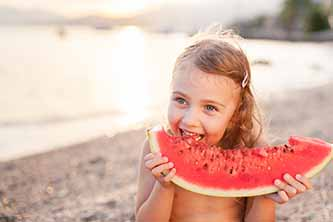 Summer Snacks for Your Child's Smile